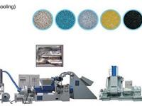 高速密炼造粒生产线(EVA,TPR,PVC低烟无卤阻,PE/PP色母粒高速造粒整套设备)
